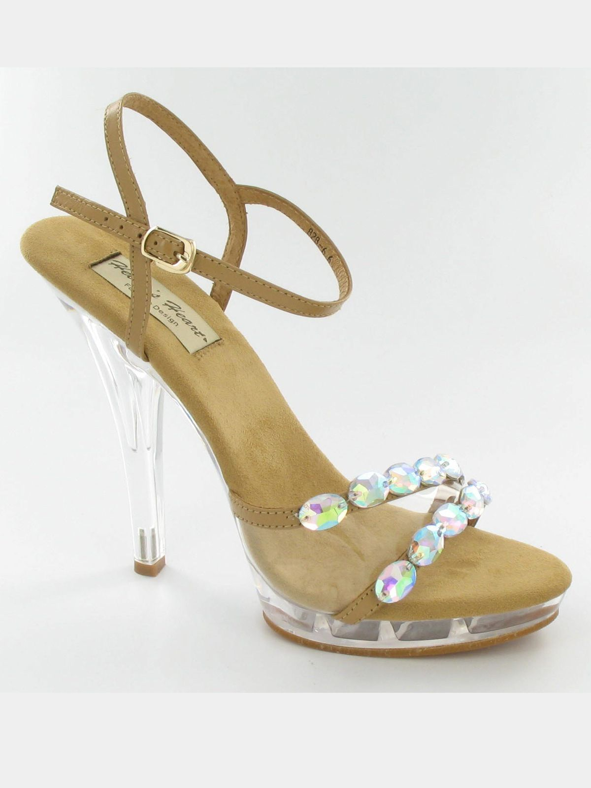 Nude Pageant Shoes