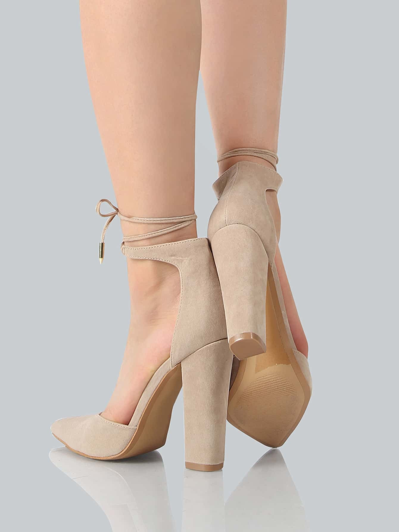 Nude Pointe Shoes