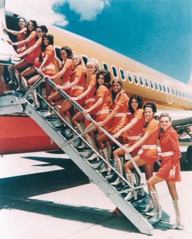 Nude Southwest Airlines