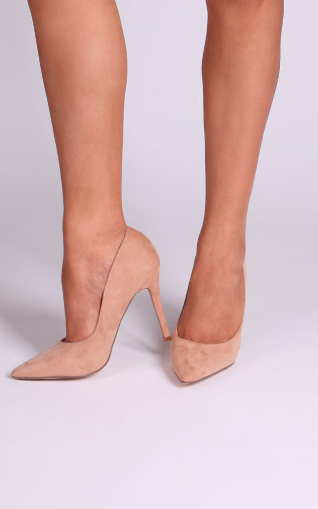 Nude Suede Courts