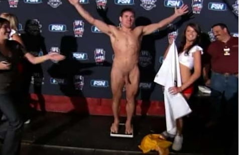 Nude Wrestle Weigh In