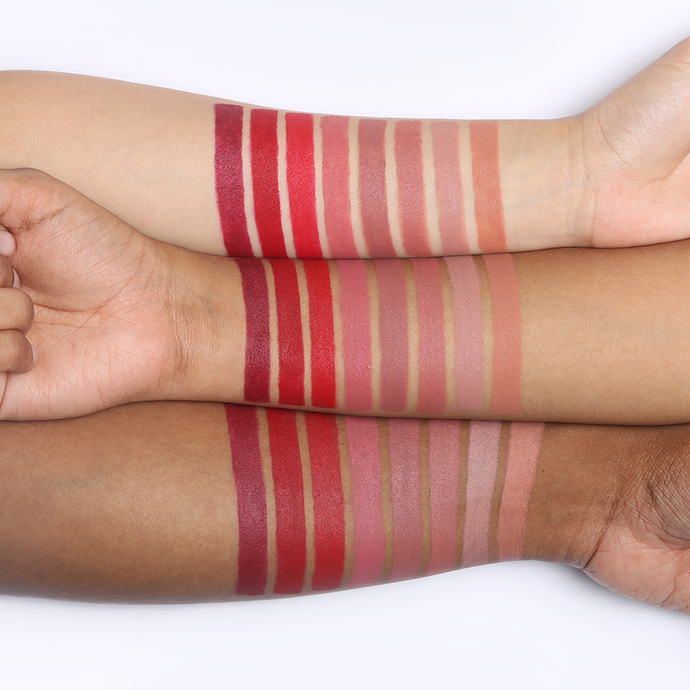 Nudestix Magnetic Matte Swatches