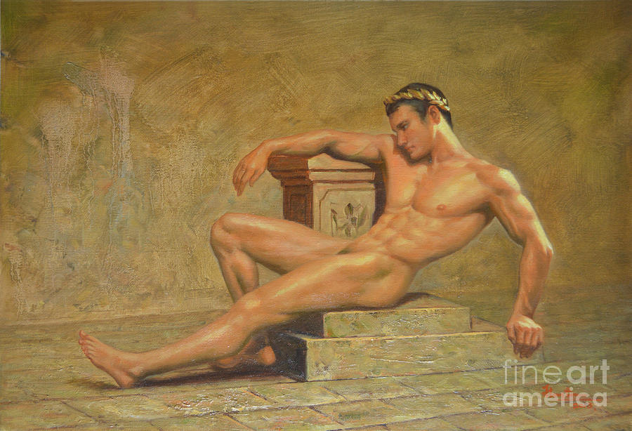 Paintings Naked Males