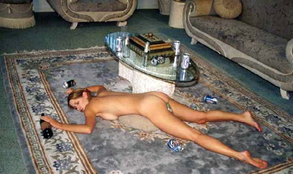 Passed Out Drunk Naked Pics