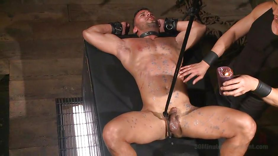 See Tough Leather Dude Nude