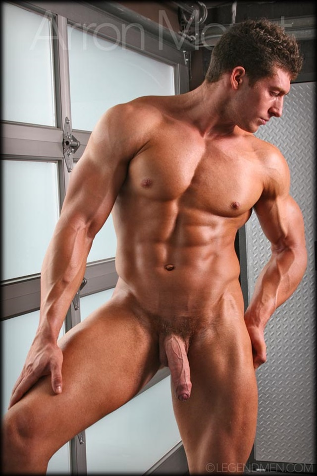 Sexy Naked Muscular Man