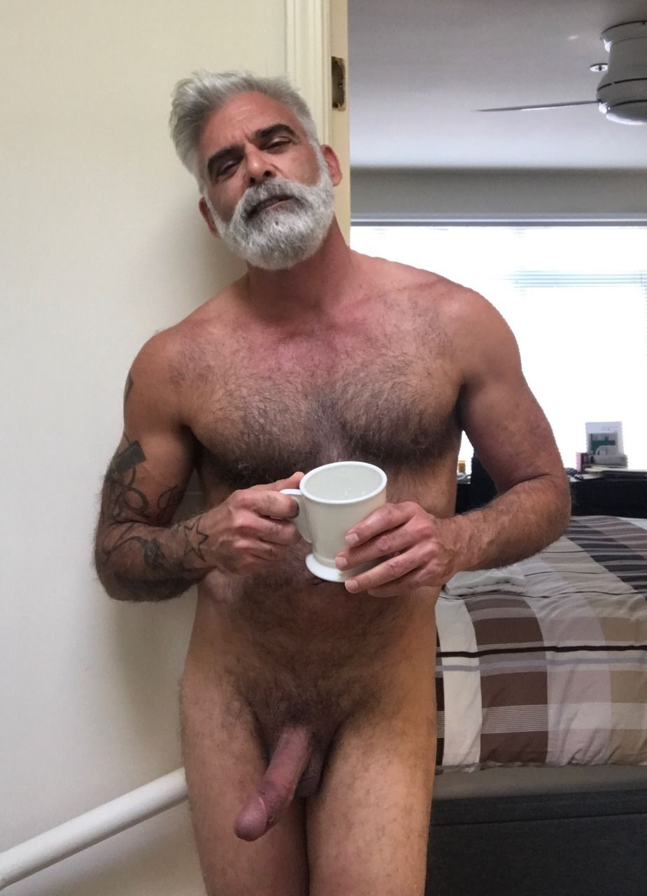 Silver Daddy Nude