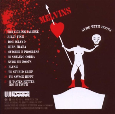 The Melvins Nude With Boots